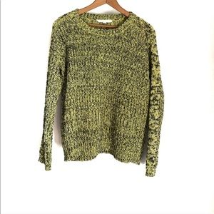 Two Vince Camuto Green Crewneck Sweater